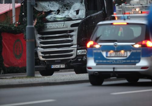 Breitscheidplatz nach Anschlag auf Weihnachtsmarkt, über dts Nachrichtenagentur