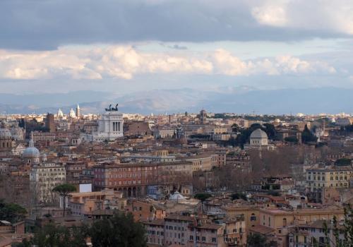 Blick über Rom, über dts Nachrichtenagentur