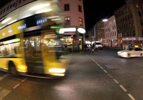 Nachtbus in Berlin-Kreuzberg, über dts Nachrichtenagentur
