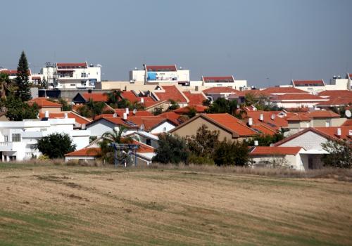Israelische Siedlung Sderot, über dts Nachrichtenagentur