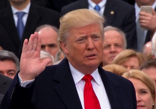 Donald Trump am 20.01.2017, über dts Nachrichtenagentur