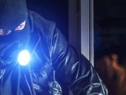 Einbrecher Taschenlampe
