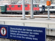 Bahnhof Gleise