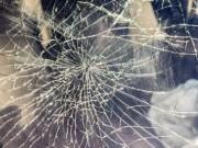 Scheibe zerbrochen Unfall