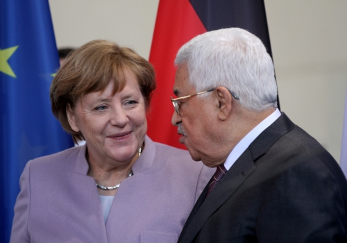 Mahmud Abbas und Angela Merkel am 24.03.2017, über dts Nachrichtenagentur