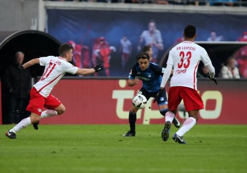 RB Leipzig - Hoffenheim am 28.01.2017, über dts Nachrichtenagentur