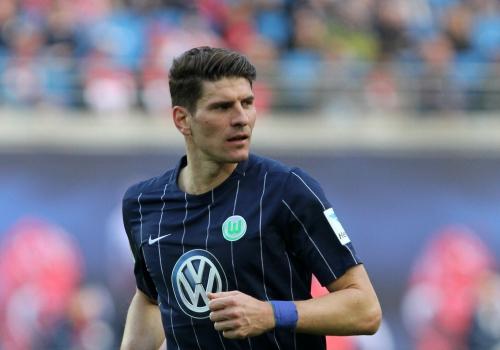 Mario Gómez (VfL Wolfsburg), über dts Nachrichtenagentur