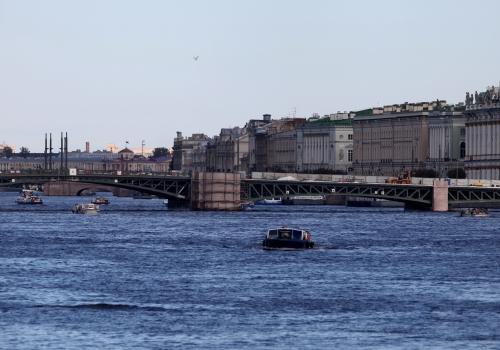 Fluss Newa bei St. Petersburg, über dts Nachrichtenagentur