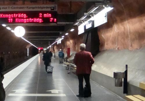 Stockholmer Metro, über dts Nachrichtenagentur