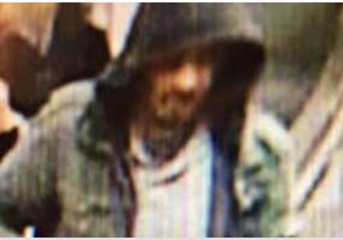 Fahndungsfoto nach Stockholmer Anschlag,  Text: über dts Nachrichtenagentur