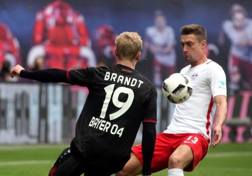 RB Leipzig - Bayer Leverkusen am 08.04.2017, über dts Nachrichtenagentur