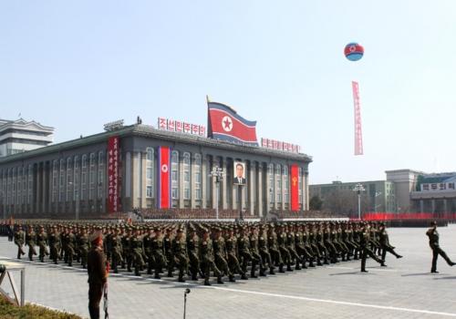 Militärparade in Nordkorea, über dts Nachrichtenagentur