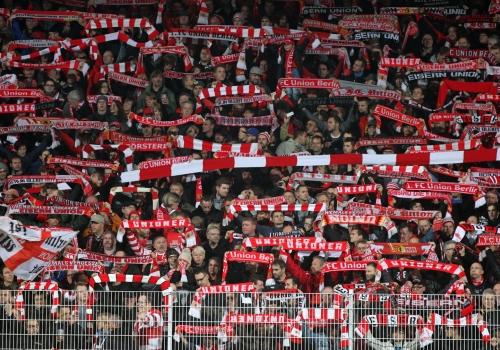 Fans von Union Berlin, über dts Nachrichtenagentur