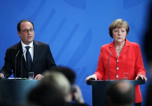 Hollande und Merkel, über dts Nachrichtenagentur