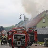 20170605_Neu-Ulm_Altenstadt_Brand_Wohnhaus_Reihenhaus_Feuerwehr_poeppel_0001
