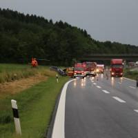 20170629_A96_Weissensberg_Neuravensburg_Unfall_Feuerwehr_Poeppel_0001