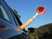 Polizeikontrolle Schleierfahndung stopp