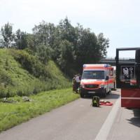 2017-08-15_A7_Dettingen_Altenstadt_Motorrad_Unfall_Reifenplatzer_Feuerwehr_Poeppel-0014
