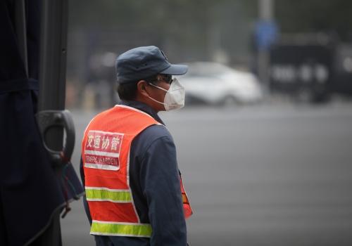 Verkehrspolizist in China, über dts Nachrichtenagentur