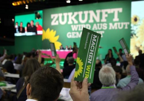 Grünen-Bundesdelegiertenkonferenz 2017, über dts Nachrichtenagentur