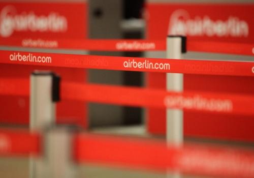 Check-In bei Air Berlin, über dts Nachrichtenagentur