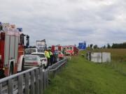 2017-09-11_A96_Holzguenz_Memmingen_Lkw-Unfall_Stauende_Feuerwehr_Poeppel_0001