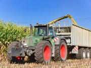 Landwirt Ernte Traktor