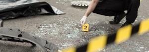 Unfall Spuren Polizei