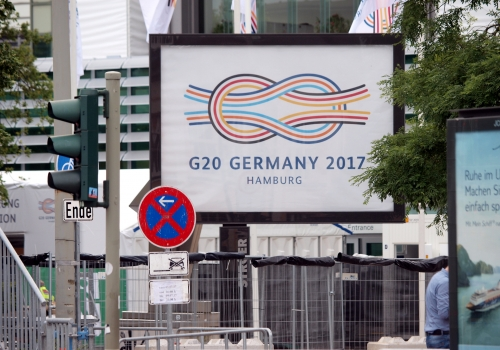 G20-Gipfel in Hamburg, über dts Nachrichtenagentur