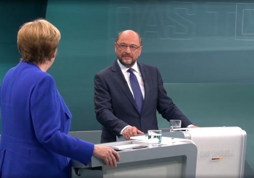 TV-Duell am 03.09.2017, über dts Nachrichtenagentur
