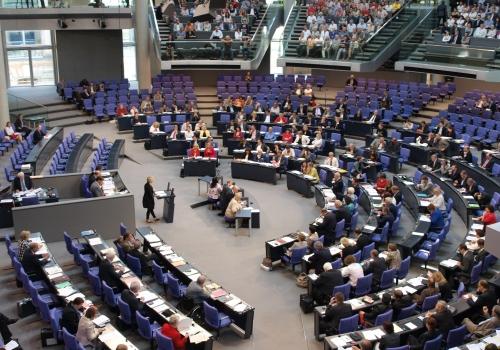 Bundestagssitzung im Plenarsaal des Reichstags, über dts Nachrichtenagentur
