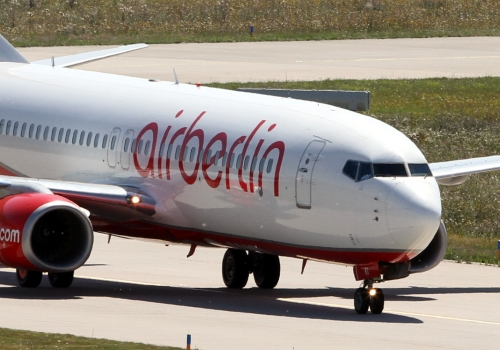 Air-Berlin-Maschine, über dts Nachrichtenagentur