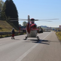 2017-10-14_A96_Leutkirch_Kisslegg_Unfall_Feuerwehr_Rettungshurbschrauber_Poeppel_0018