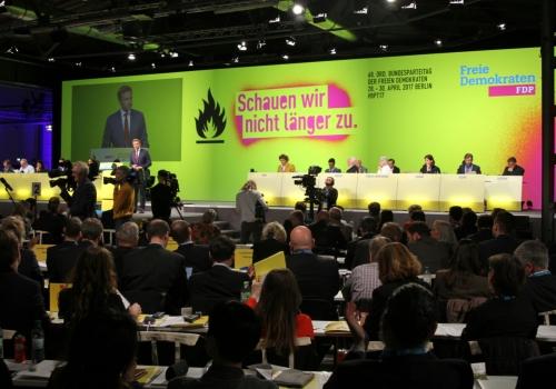 FDP-Parteitag am 28.04.2017, über dts Nachrichtenagentur