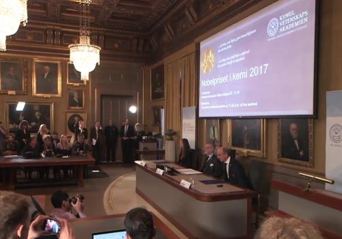 Bekanntgabe Nobelpreis für Chemie am 04.10.2017, über dts Nachrichtenagentur