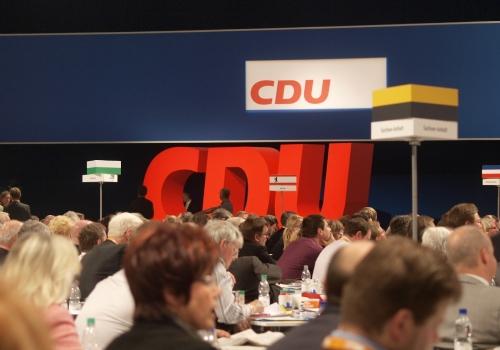 CDU-Parteitag, über dts Nachrichtenagentur