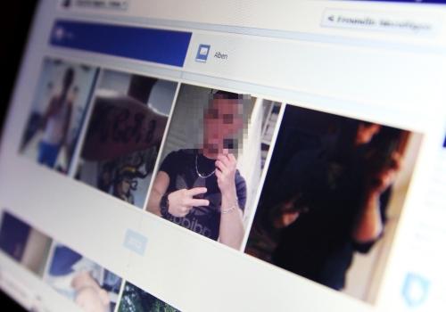 Facebook-Seite eines Kriminellen, über dts Nachrichtenagentur