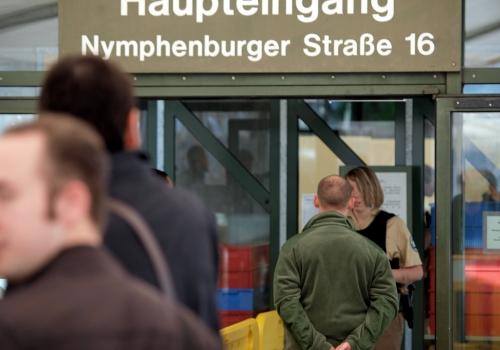 Eingang zum Strafjustizzentrum München, über dts Nachrichtenagentur
