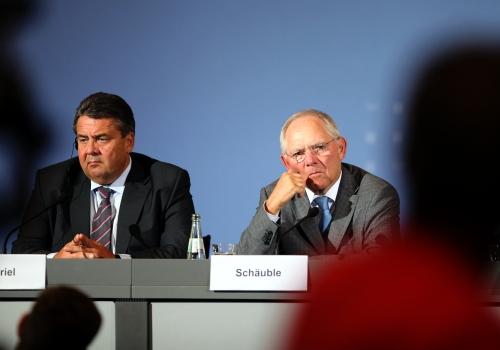 Sigmar Gabriel und Wolfgang Schäuble, über dts Nachrichtenagentur