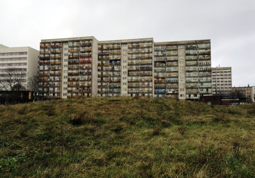 Plattenbauten in Halle (Saale), über dts Nachrichtenagentur
