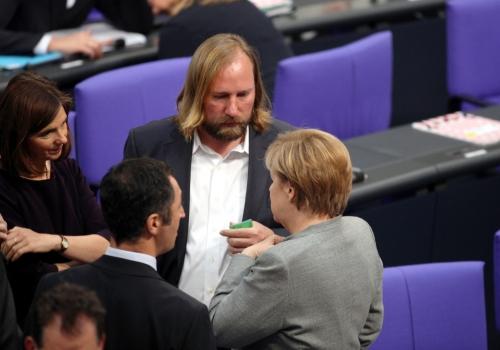 Merkel mir Özdemir, Göring-Eckardt, Hofreiter, über dts Nachrichtenagentur