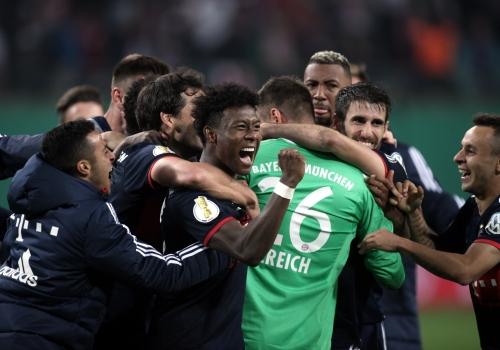 FC-Bayern-Spieler im DFB-Pokal, über dts Nachrichtenagentur