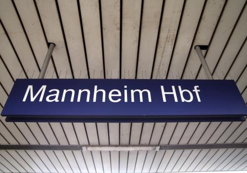 Mannheim Hbf, über dts Nachrichtenagentur
