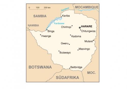 Simbabwe, über dts Nachrichtenagentur