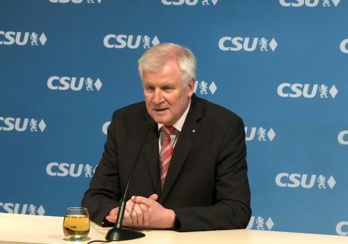Horst Seehofer am 23.11.2017, über dts Nachrichtenagentur