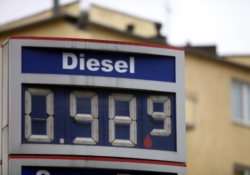 Diesel-Preis an einer Tankstelle, über dts Nachrichtenagentur