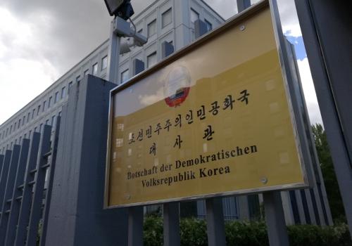 Botschaft von Nordkorea, über dts Nachrichtenagentur