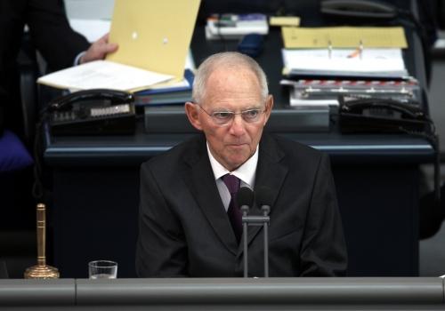 Wolfgang Schäuble am 24.10.2017, über dts Nachrichtenagentur