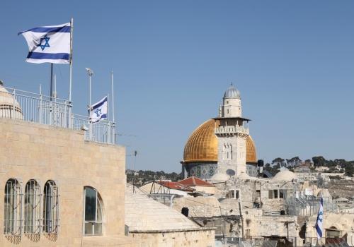 Tempelberg mit Felsendom in Jerusalem, über dts Nachrichtenagentur
