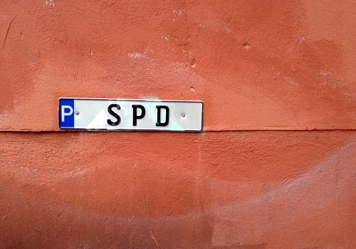 SPD-Parkschild, über dts Nachrichtenagentur